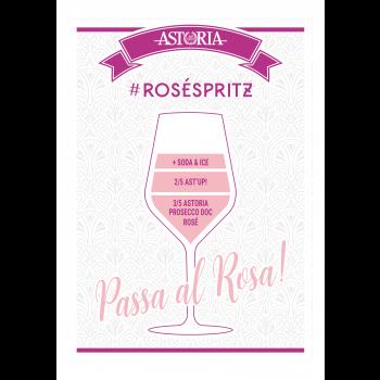 Rosato spritz Astoria - recept rose spritz