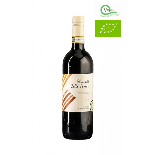 Chianti colli senesi- rdeča vina - Casabianca - vegan, bio