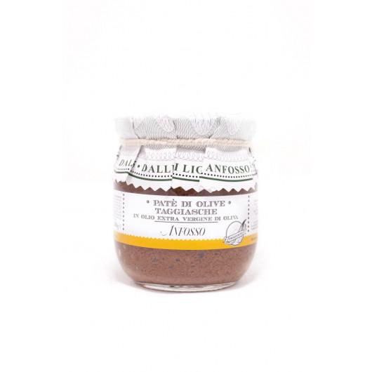 Tapenada - namaz iz črnih oliv taggiascha z ekstra deviškim oljčnim oljem