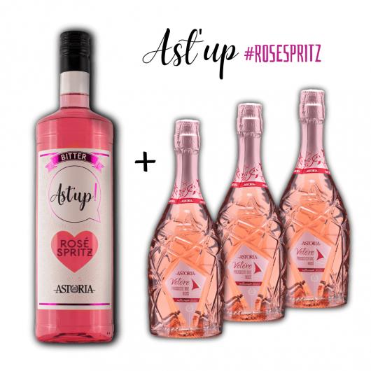 Rosato spritz Astoria - rose spritz