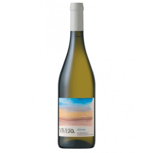 Steklenica belega vina iz Sicilije