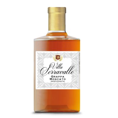 VILLA SERRAVALLE Moscato grappa barrique 0,7L
